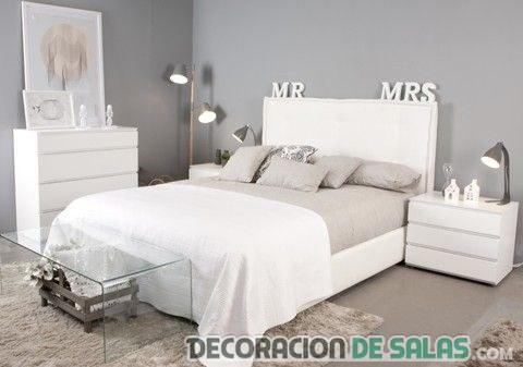 dormitorio elegante neutro