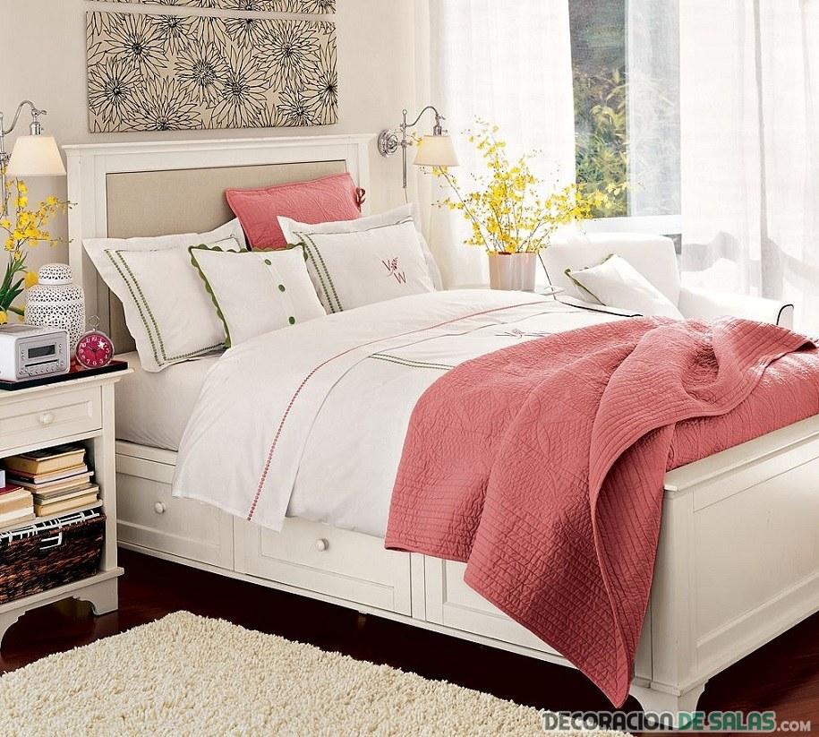 Dormitorio en verano