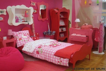 dormitorio hello kitty