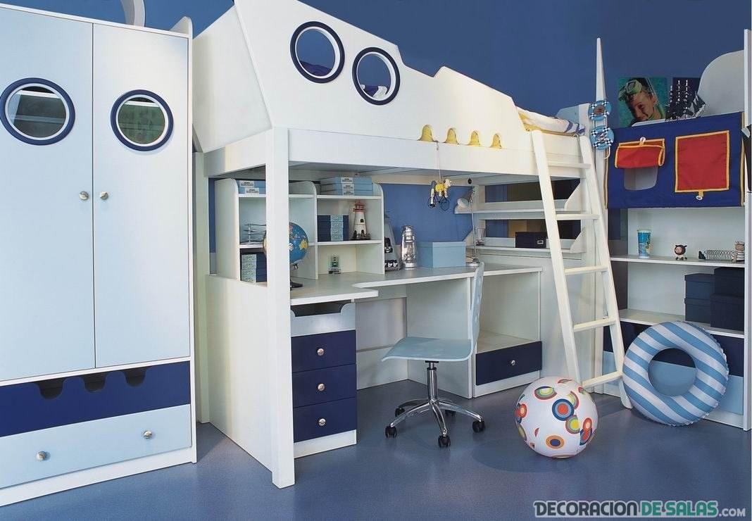 dormitorio infantil camarote