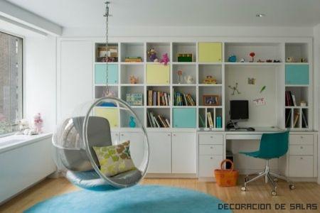 dormitorio infantil ordenado