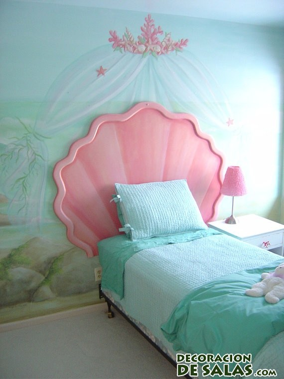 dormitorio la sirenita