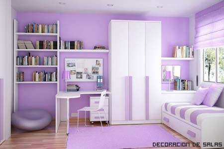 dormitorio lavanda