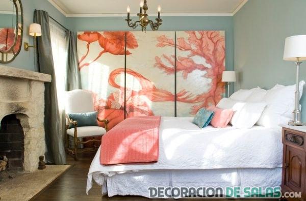 dormitorio matrimonio con armario lacado