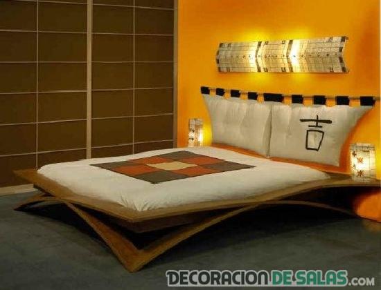 dormitorio original asiático