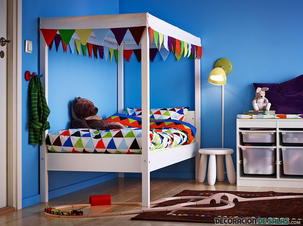 dormitorio para niños de ikea