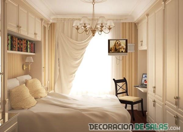 dormitorio pequeño decorado