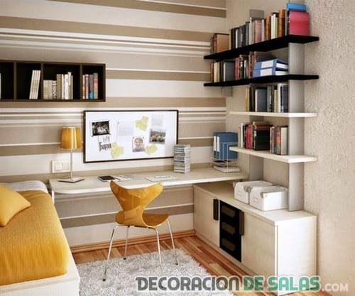 dormitorio pequeño práctico