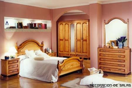 dormitorio provenzal clasico