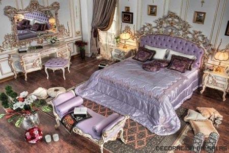 dormitorio rococo