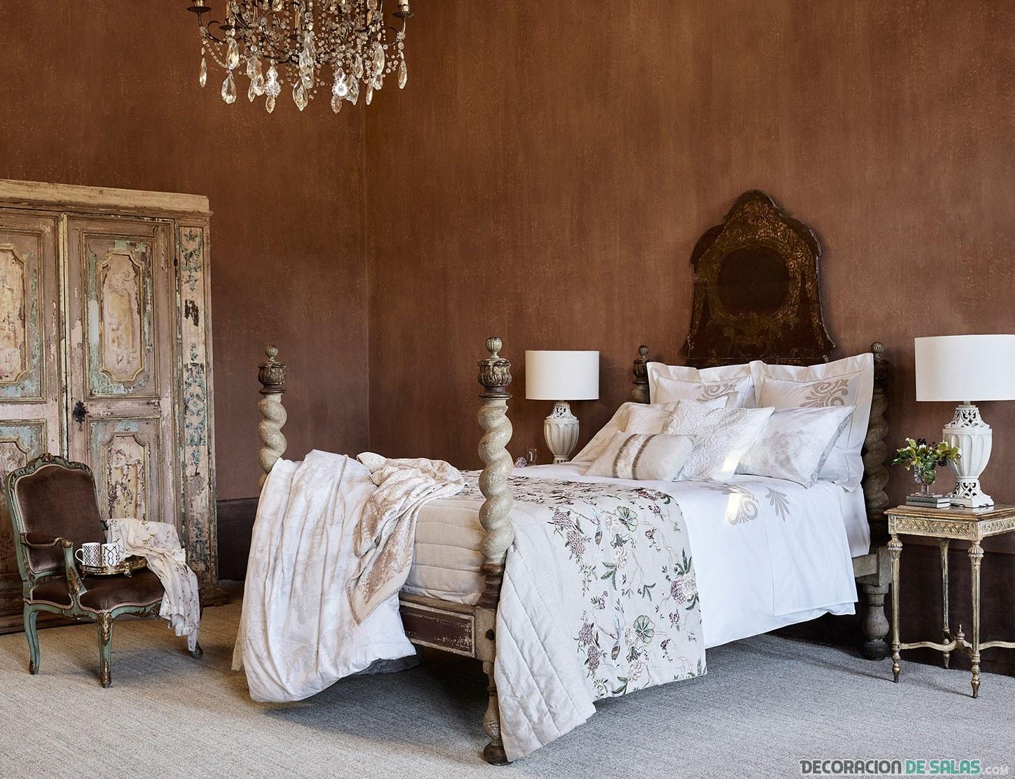 dormitorio sencillo de zara home