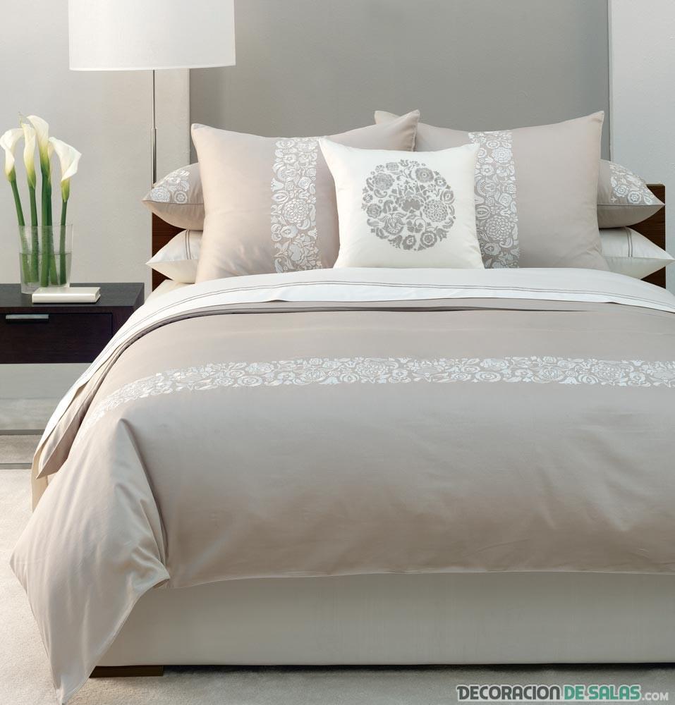 dormitorio sencillo en beige