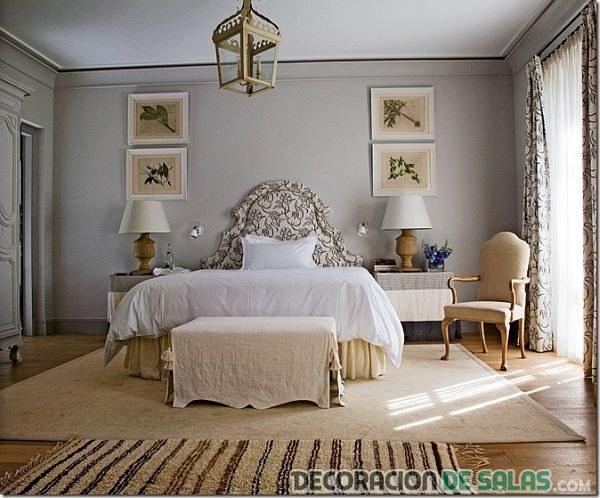 dormitorio tonos neutros sencillo