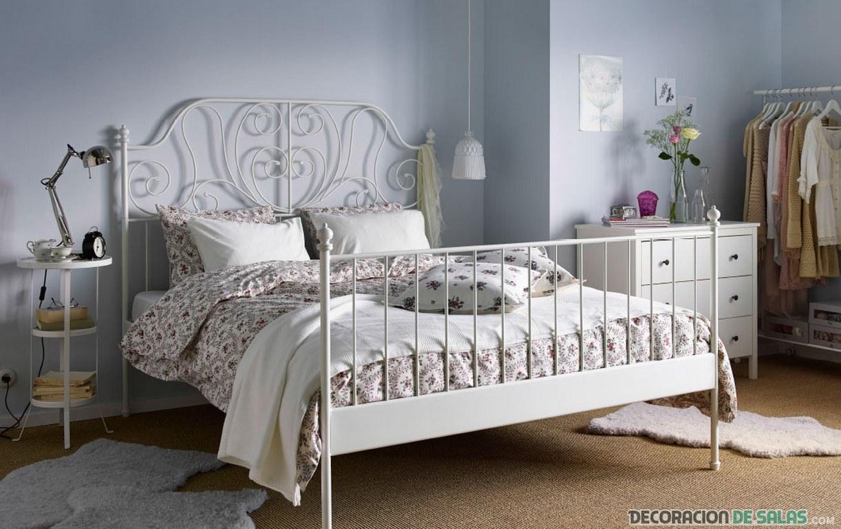 dormitorio vintage ikea
