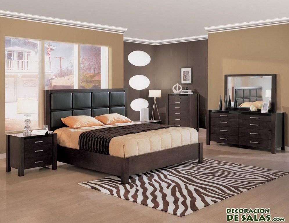 Dormitorios elegantes y étnicos