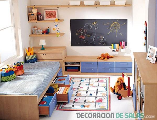 dormitorios infantiles con juegos