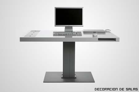 escritorio un pie