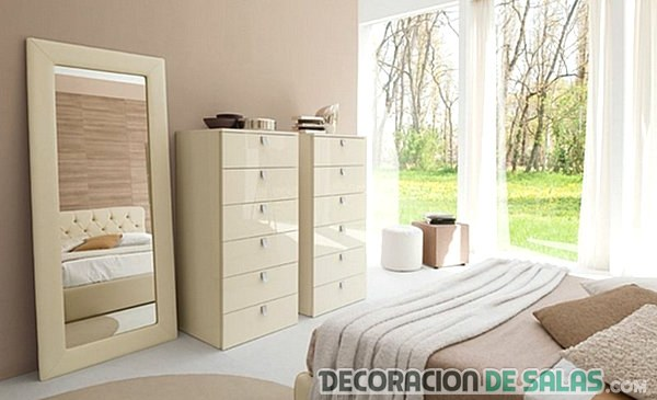 espejo de pie para dormitorio moderno