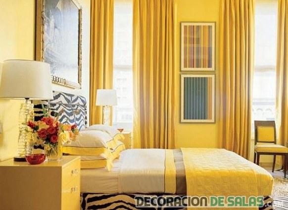 estampado animal con color amarillo