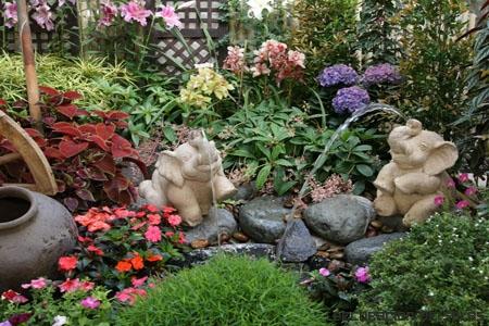 figuras jardin