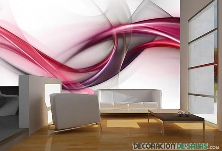 fotomural abstracto para salón