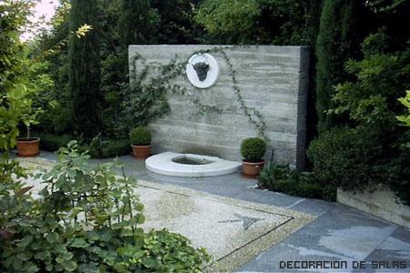 fuente para el jardin