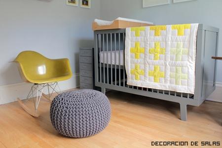 gris y amarillo