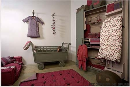 habitacion infantil bohemia