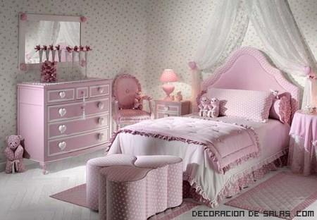 consejos para decorar habitaciones de niñas