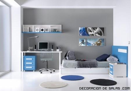 cómo decorar habitaciones juveniles