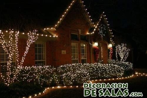 ideas de decoración de casas en navidad
