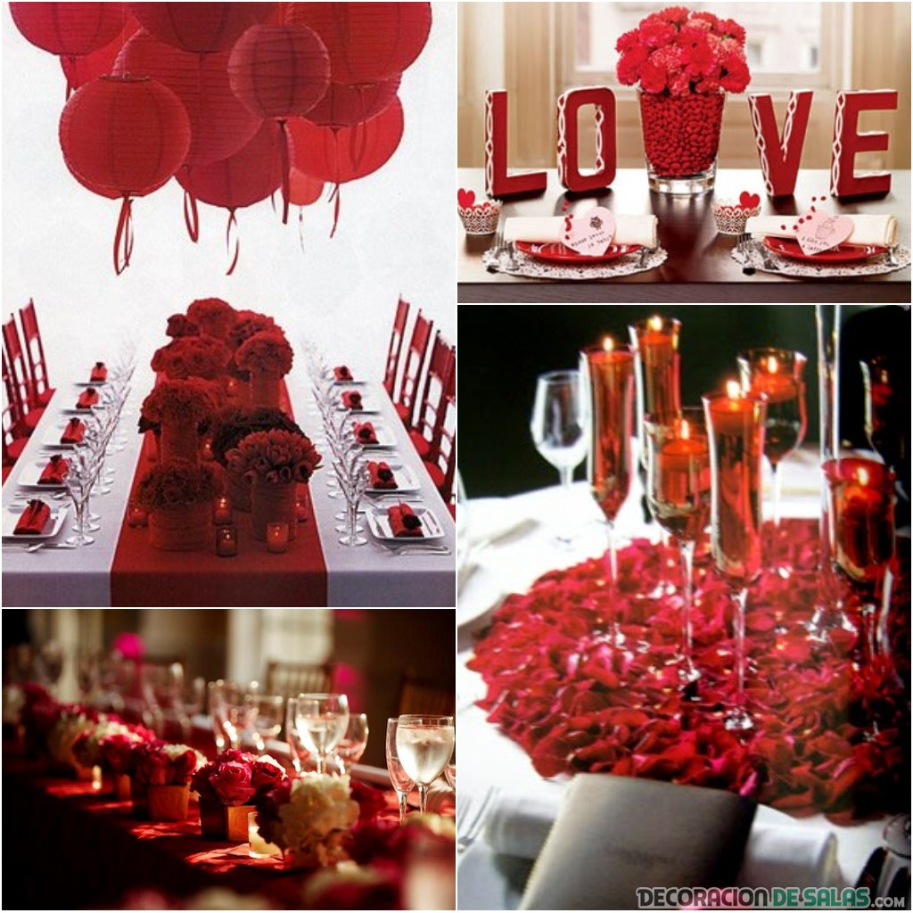 ideas de decoración para san valentín