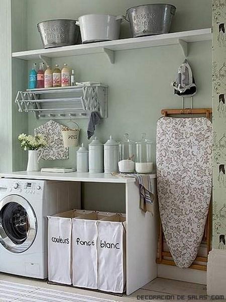 Organizar el cuarto de lavandería