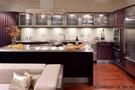 iluminación cocina