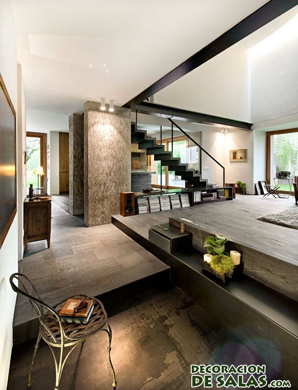 interior de loft moderno