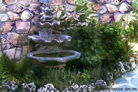 jardin fuente