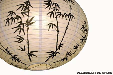 lampara oriental