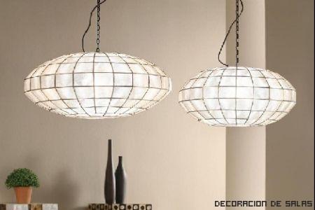lamparas de pergamino