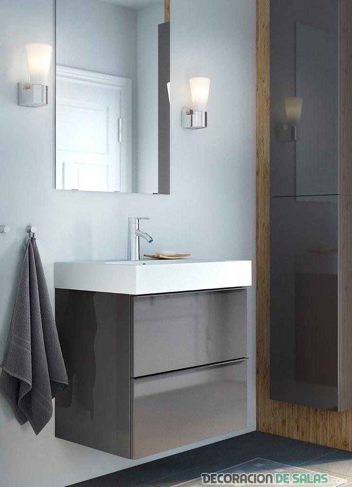 lavabo con luz