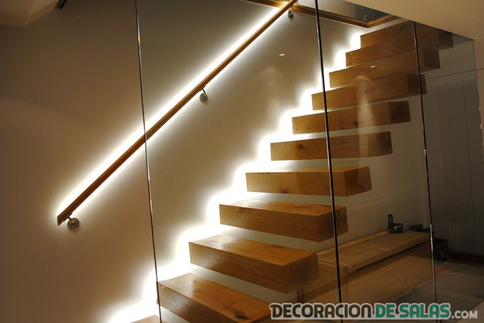 led escaleras