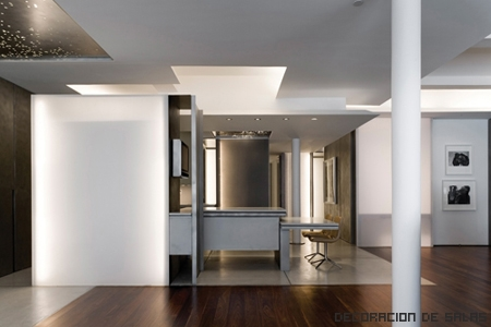 loft con columnas