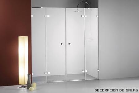 mampara 2 puertas