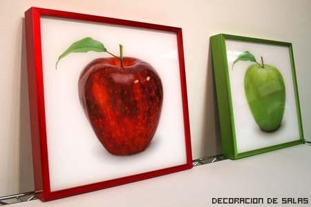 manzanas metacrilato