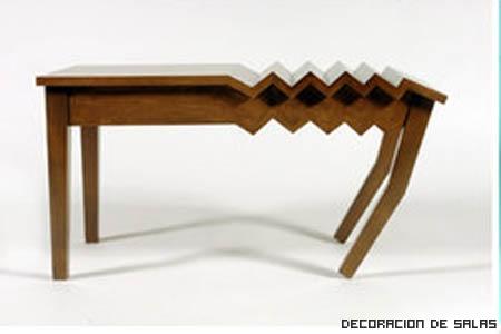 mesa arrugada