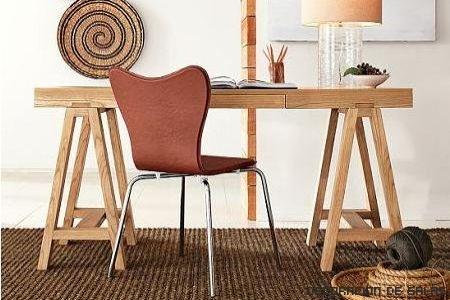 mesa caballete madera