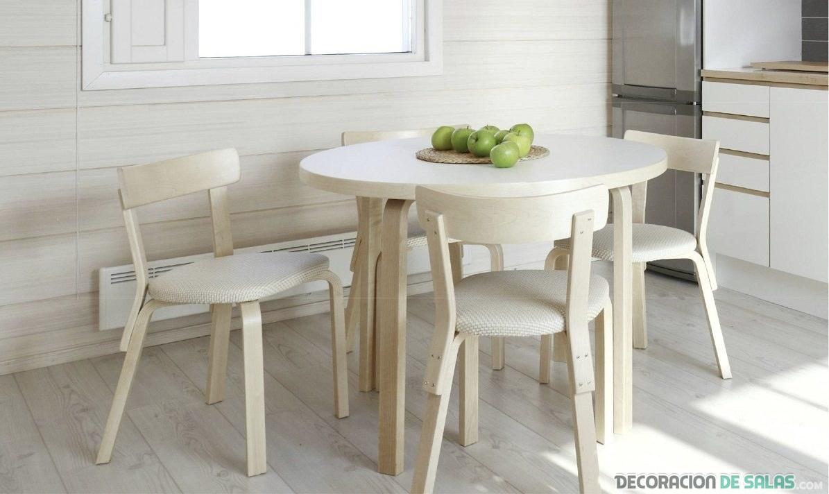 Porqué colocar una mesa en la cocina | Decoración de Salas