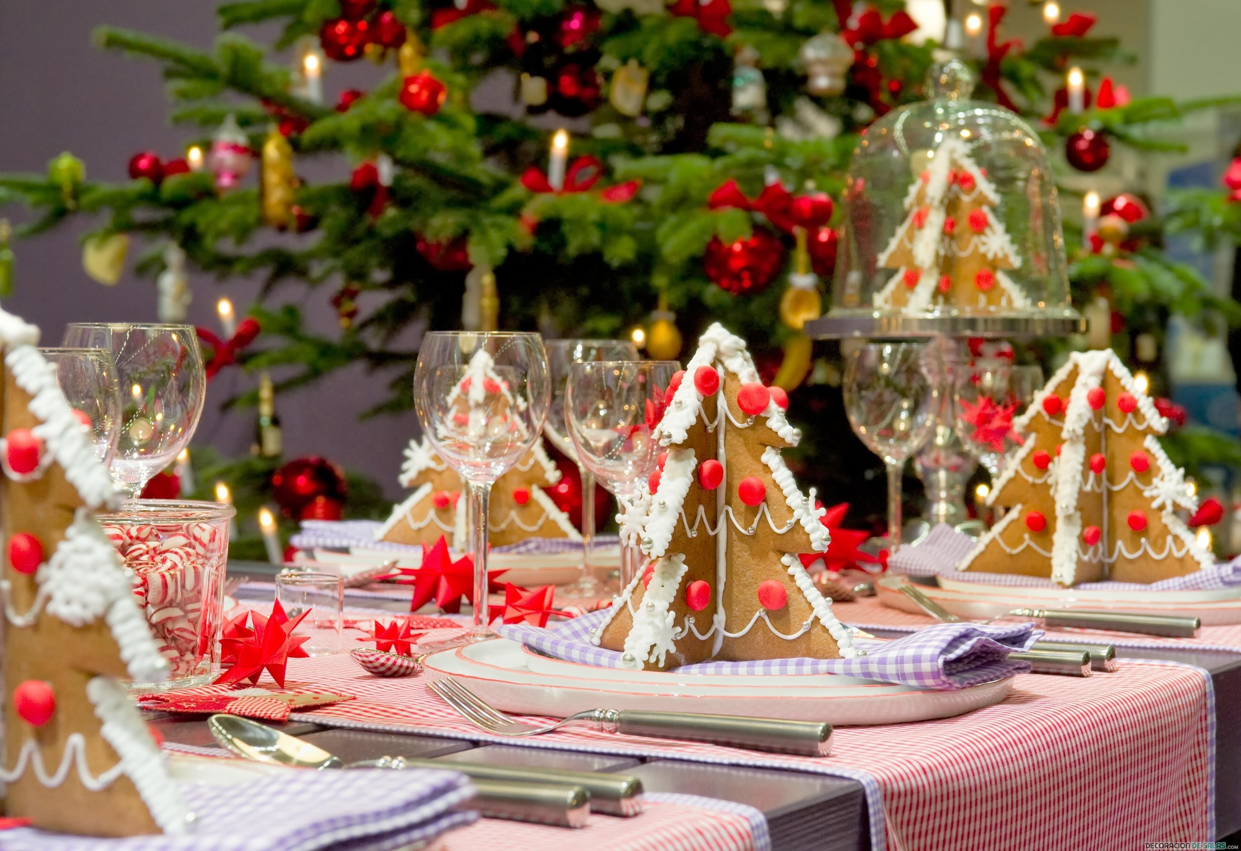mesa de navidad original