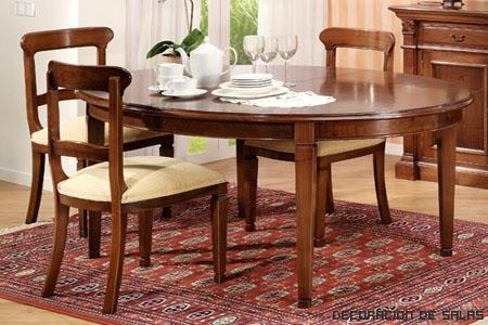 Tipos de mesa de comedor | Decoración de Salas