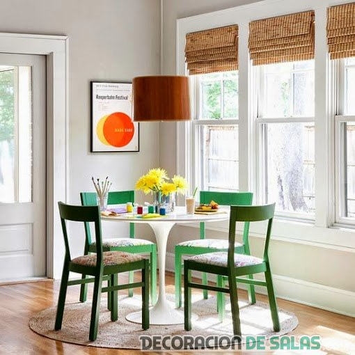mesa sencilla de comedor