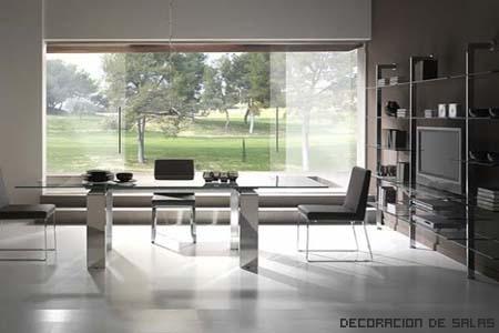 mesa transparente